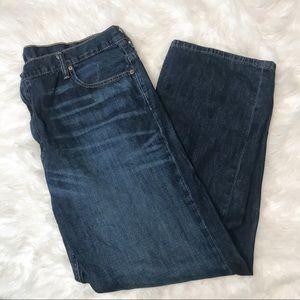 Levi's Men's 569 Loose Straight Fit Dark Jeans